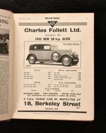 1931 Motor Sport: Incorporating the Brooklands Gazette
