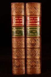 1865 2vol Life and Times of Sir Joshua Reynolds Leslie Taylor Illustrated