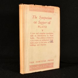 c1932 Plato's Symposium or Supper