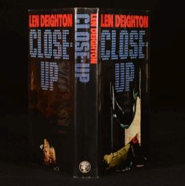 1972 Close Up by Len Deighton Signed First Edition