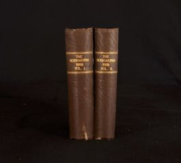 1888-89 2vol Elliot Stock The Bookworm Illustrated Frontispiece Plates Lit