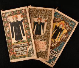 1907-1913 Munchener Kalender