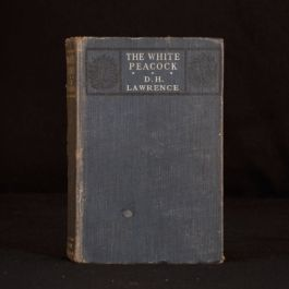 1911 D H Lawrence The White Peacock First Edition Novel Romance Provincialism
