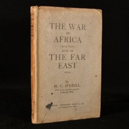 1919 The War in Africa (1914-1917) and in the Far East (1914)