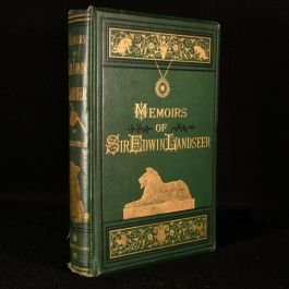 1874 Memoirs of Sir Edwin Landseer: a Sketch of the Life of the Artist