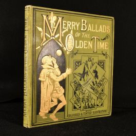 c1880 The Merry Ballads of Olden Time