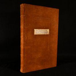 c1780 Handwritten Arithmetic Manuscript