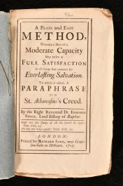 1715 A Plain and Easy Method, whereby a Man of Moderate Capacity may arrive at a Full Satisfaction