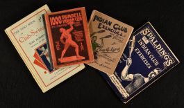 c1902 Assorted Works on Indian Club Exercises