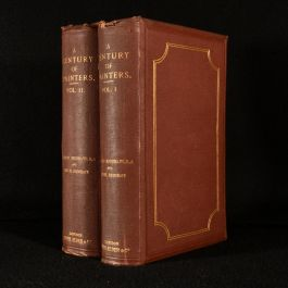 1866 A Century of Painters of the English School