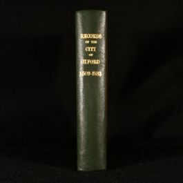 1880 Selections from the Records of the City of Oxford
