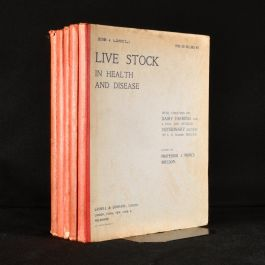 1902 5vol Live Stock in Health and DIsease