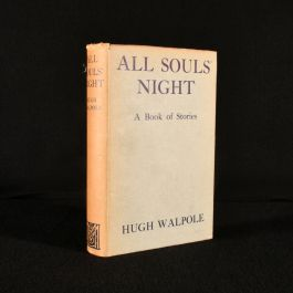 1933 All Souls' Night a Book of Stories