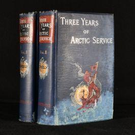 1886 2vol Three Years of Arctic Service