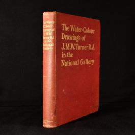 1904 The Water-Colour Drawings of J M W Turner