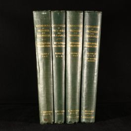 1933 4vol Pictures and Drawings in the Collection of Frederick John Nettlefold