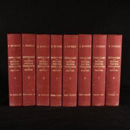 1966 8vol Dictionnaire Critique et Documentaire des Peintres, Sculpteurs, Dessinateurs et Graveurs