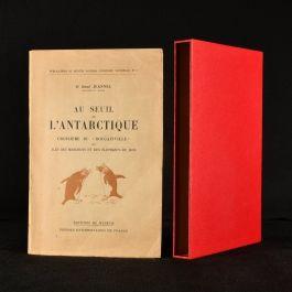 """1941 Au Seuil l'Antarctique Croisiere du """"Bougainville"""""""