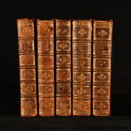 1714 5vol Poemes Dramatiques de T. Corneille