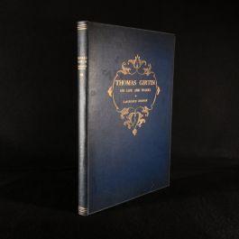1900 Thomas Girtin His Life and Works