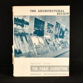 1937 The Architectural Review The Paris Exhibition