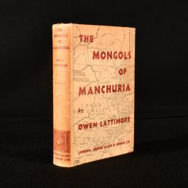 1935 The Mongols of Manchuria