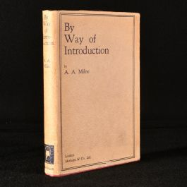 1929 By Way of Introduction