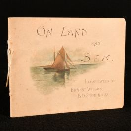 c1890 On Land and Sea