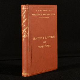 1869 Mottoes and Aphorisms from Shakespeare