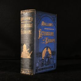 c1883 Introduction to the Literature of Europe