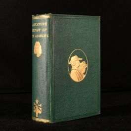 1876 Caricature History of the Georges