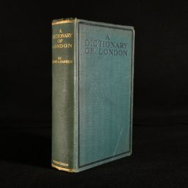 1918 A Dictionary of London
