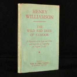 1931 The Wild Red Deer of Exmoor