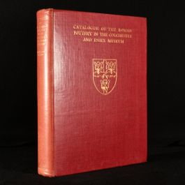 1930 Catalogue of the Roman Pottery in the Colchester and Essex Museum