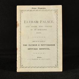 c1900 Eltham Palace
