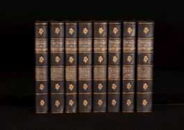 1920 8vol Diary Of Samuel Pepys Edited With Additions By Wheatley With Portrait