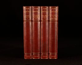 1904 4vols The Poems of Algernon Charles Swinburne