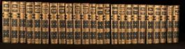 1868 24vol Works of William Makepeace Thackeray Illustrated