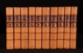 1784 10vol The Works of Henry Fielding Life of the Author