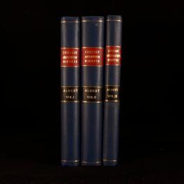 1871-75 3vol Albert Life Assurance Minutes of Proceedings Arbitrator