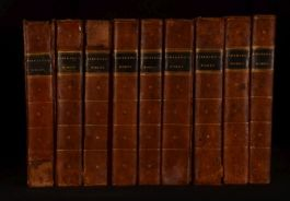 1784 9vol The Works of Henry Fielding With the Life of the Author
