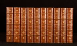 1922 10vol The Life of Samuel Johnson James Boswell Whitman Bennett Binding