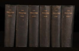 1878-1888 6 vols Ten Years of The Theatre Edited By Clement Scott