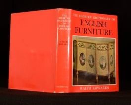 1969 The Shorter Dictionary of English Furniture Ralph Edwards