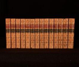 1862-63 14Vol Works of Thomas de Quincey Fine Binding opium Eater