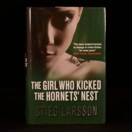 2008 FIRST UK EDITION The Girl Who Kicked the Hornets' Nest Stieg Larsson