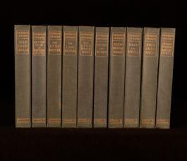 1913 10Vol The Works of J M Barrie Kirriemuir Edition Limited Slipcase Peter Pan