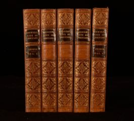 1831 5vol The Life of Samuel Johnson James Boswell New Edition