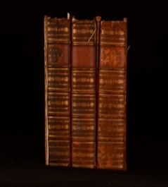 1765 3vols Works Francis Bacon Volumes I III and V Frontispiece