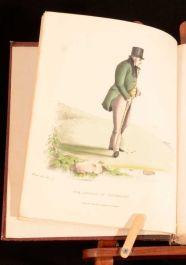 1882 Modern Athenians Memorable Citizens of Edinburgh Benjamin W Crombie Plates